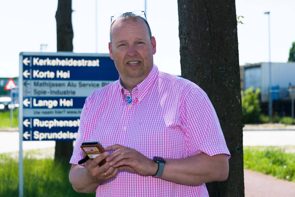 Parkmanager Frank Swaghoven