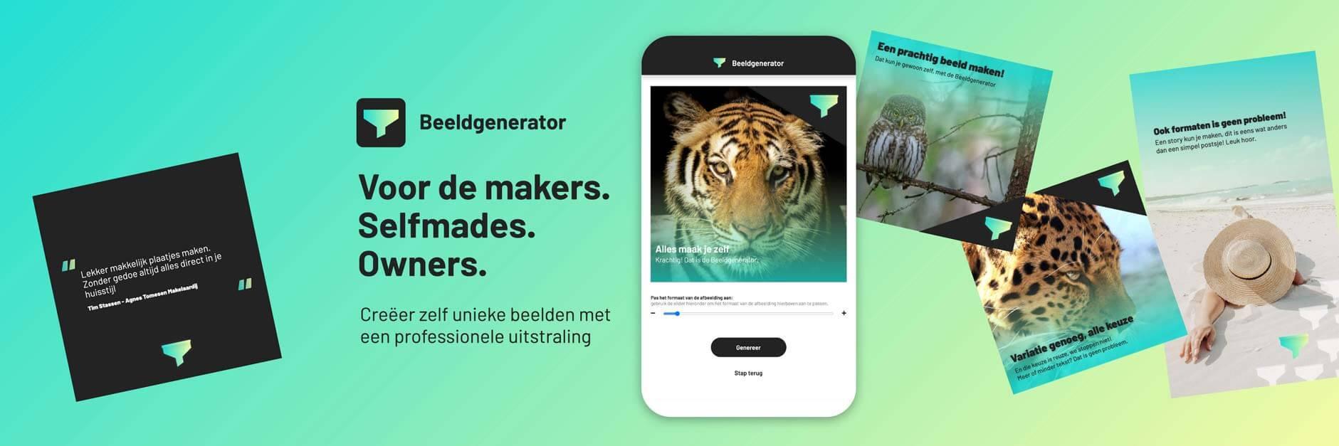 Aanbod vanuit nieuw IKR-Lid: De beeldgenerator